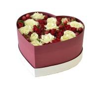 Цветы в коробке №23