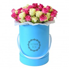 Цветы в коробке №6