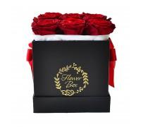 Цветы в коробке №8