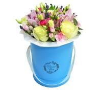 Цветы в коробке №14