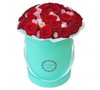 Цветы в коробке №16