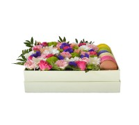 Цветы в коробке №21